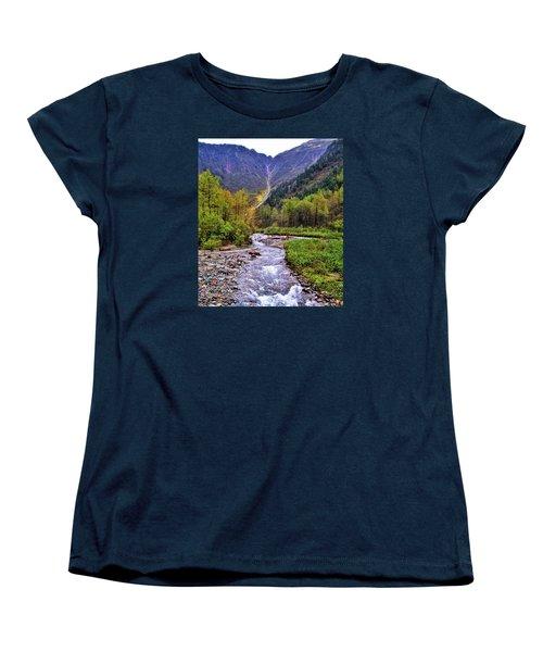 Brook Women's T-Shirt (Standard Cut) by Martin Cline