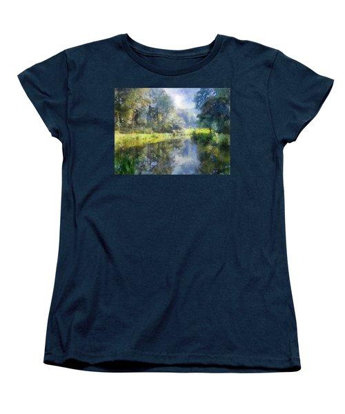 Brookside Women's T-Shirt (Standard Cut) by Francesa Miller