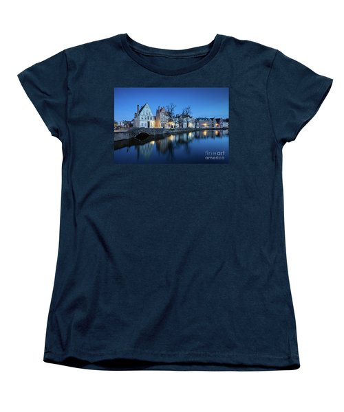 Magical Brugge Women's T-Shirt (Standard Cut) by JR Photography