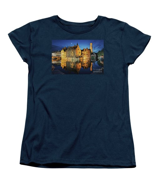Brugge Women's T-Shirt (Standard Cut) by JR Photography