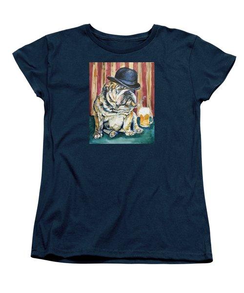 Women's T-Shirt (Standard Cut) featuring the painting Bruno by P Maure Bausch