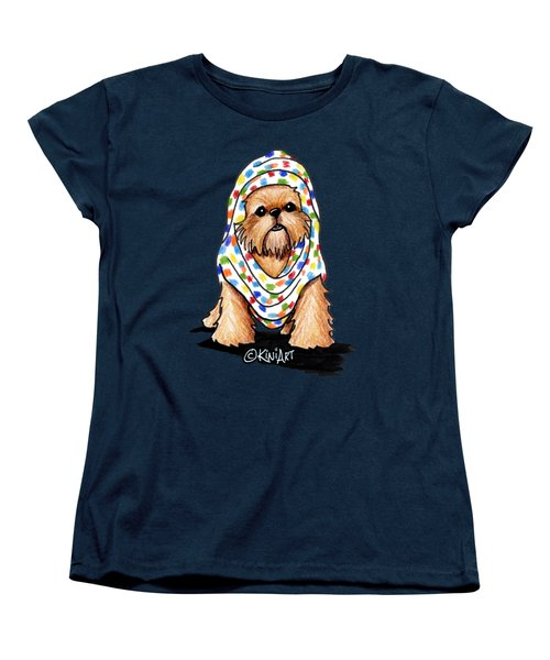 Brussels Griffon Beauty Women's T-Shirt (Standard Cut) by Kim Niles
