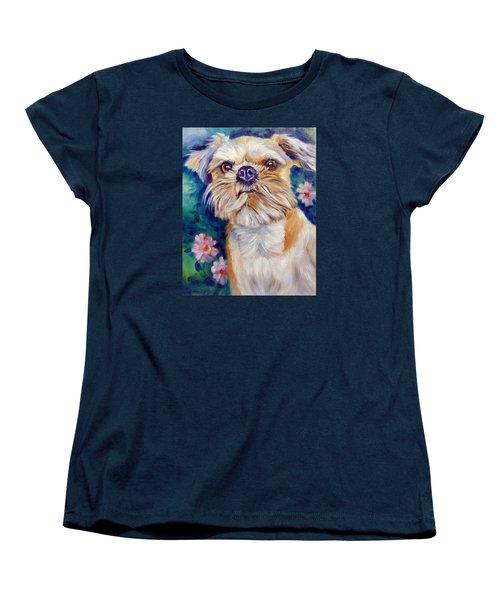 Brussels Griffon Women's T-Shirt (Standard Cut) by Lyn Cook