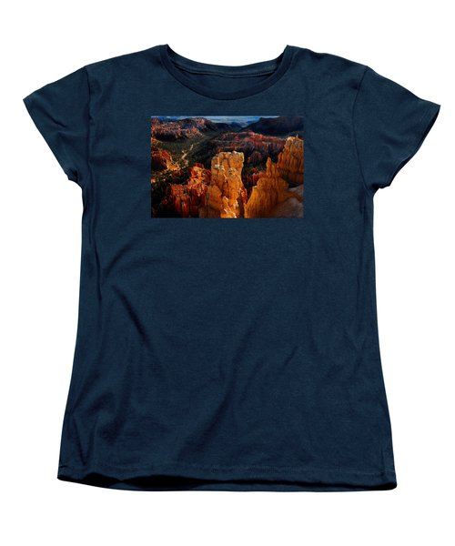 Bryce Canyon Women's T-Shirt (Standard Cut) by Harry Spitz