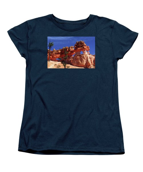 Women's T-Shirt (Standard Cut) featuring the photograph Bryce Canyon National Park by Sally Weigand