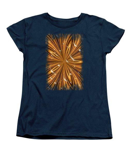 Bubble Stripes Women's T-Shirt (Standard Cut) by Bonfire Photography