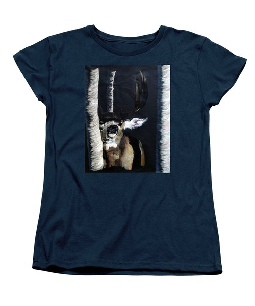 Buck Women's T-Shirt (Standard Cut) by Mayhem Mediums