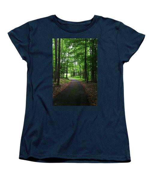 Buckner Farm Path Women's T-Shirt (Standard Cut) by Dana Sohr
