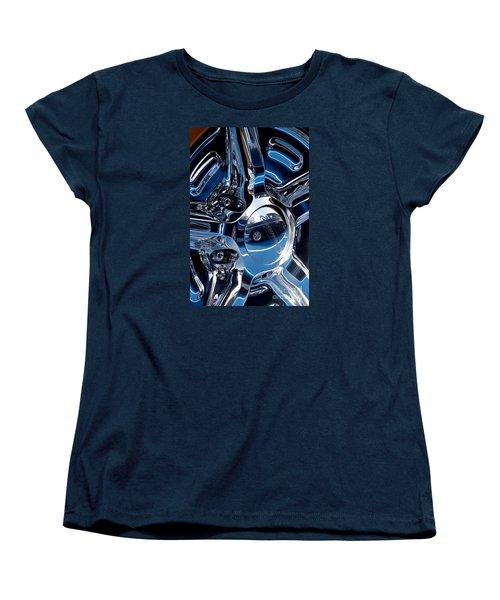 Budnik Wheel 03 Women's T-Shirt (Standard Cut) by Rick Piper Photography