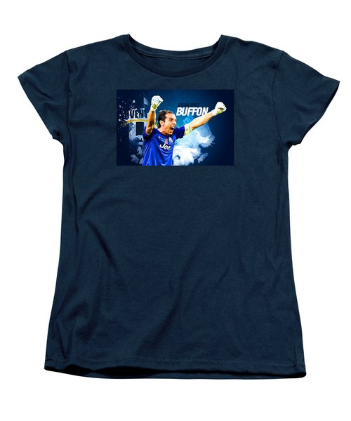 Buffon Women's T-Shirt (Standard Cut) by Semih Yurdabak