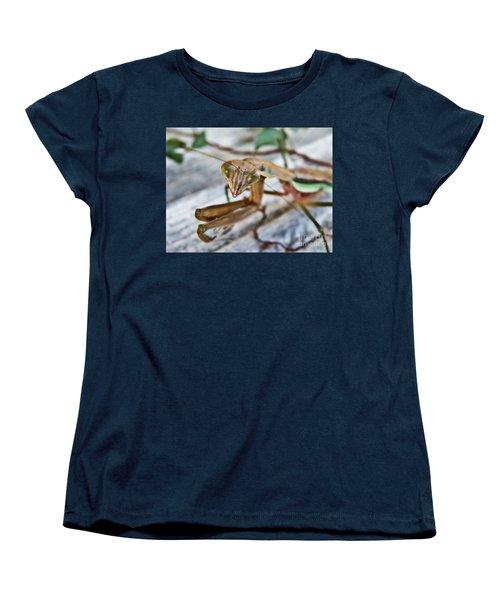 Bug Eyed  Women's T-Shirt (Standard Cut) by Christy Ricafrente