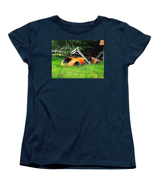 Women's T-Shirt (Standard Cut) featuring the photograph Bugsy by Sadie Reneau