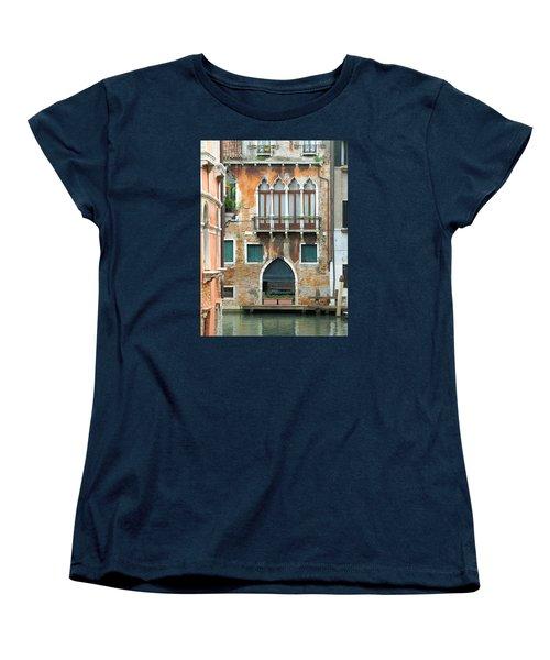 Buildings Of Venice Women's T-Shirt (Standard Cut) by Lisa Boyd