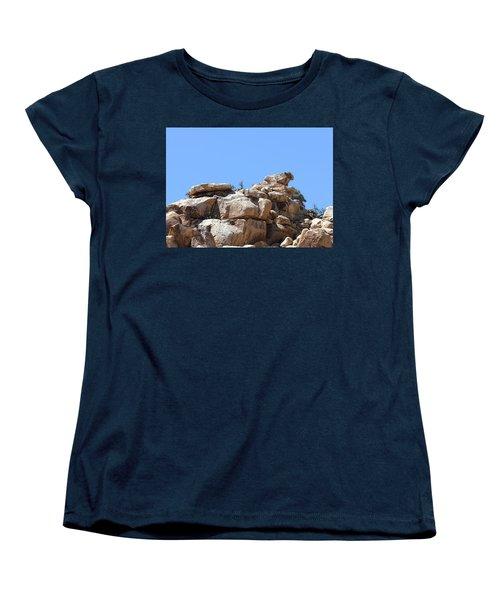 Bull From Joshua Tree Women's T-Shirt (Standard Cut) by Viktor Savchenko