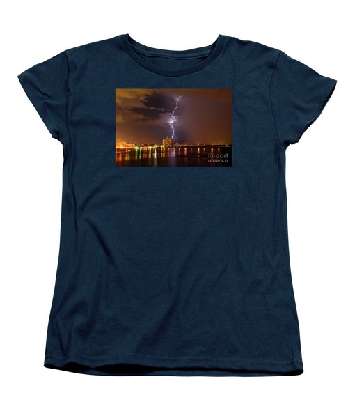 Bulls Eye Women's T-Shirt (Standard Cut) by Quinn Sedam