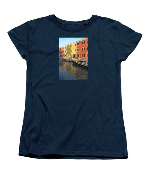 Burano Italy 1 Women's T-Shirt (Standard Cut) by Rebecca Margraf
