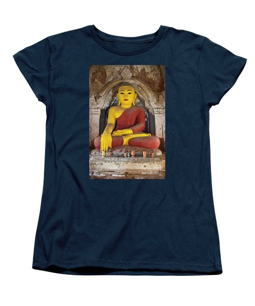 Burma_d1150 Women's T-Shirt (Standard Cut) by Craig Lovell