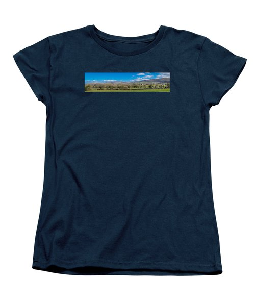 Burren Panorama Women's T-Shirt (Standard Cut) by Juergen Klust