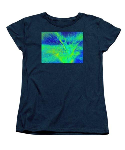 Bursting Women's T-Shirt (Standard Cut) by Betty-Anne McDonald