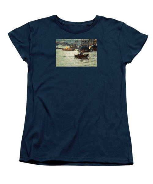 Busy Hoi Ahn Dawn Women's T-Shirt (Standard Cut) by Cameron Wood