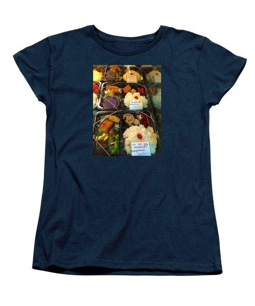 Women's T-Shirt (Standard Cut) featuring the photograph Butterfish Bento Box by Brenda Pressnall