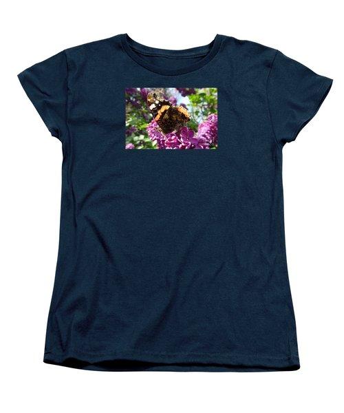 Butterfly 7 Women's T-Shirt (Standard Cut) by Jean Bernard Roussilhe