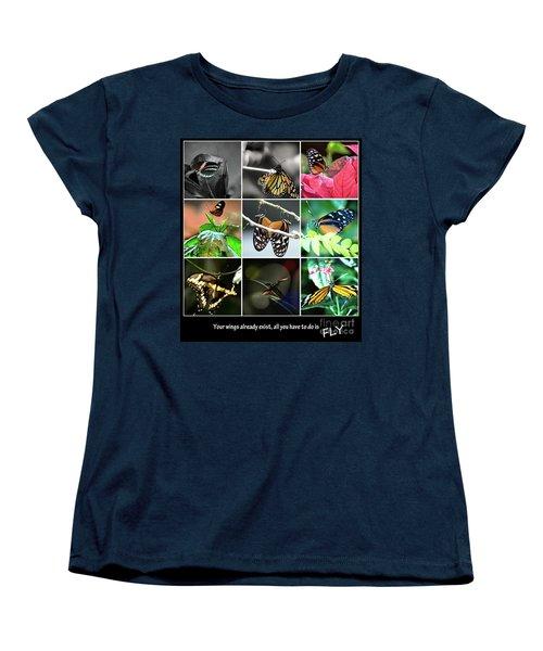 Butterfly Cluster Women's T-Shirt (Standard Cut)
