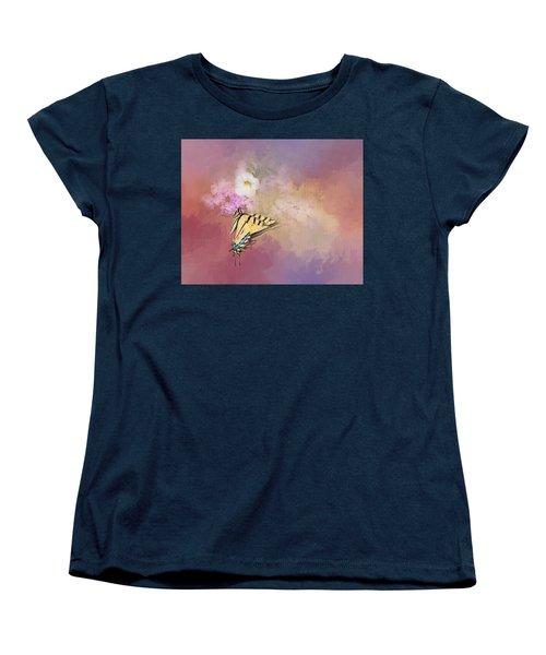 Butterfly Dreams Women's T-Shirt (Standard Cut) by Theresa Tahara