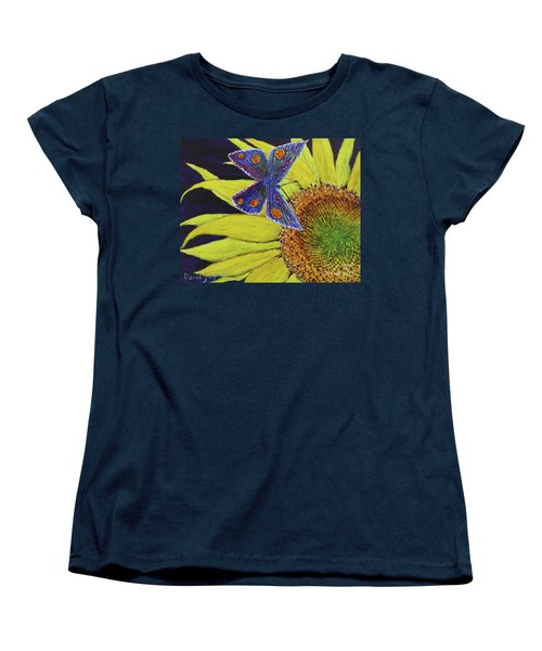 Butterfly Haven Women's T-Shirt (Standard Cut) by David Joyner