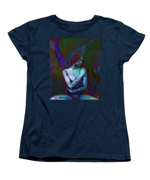 Butterfly Hearts II Women's T-Shirt (Standard Cut) by AC Williams
