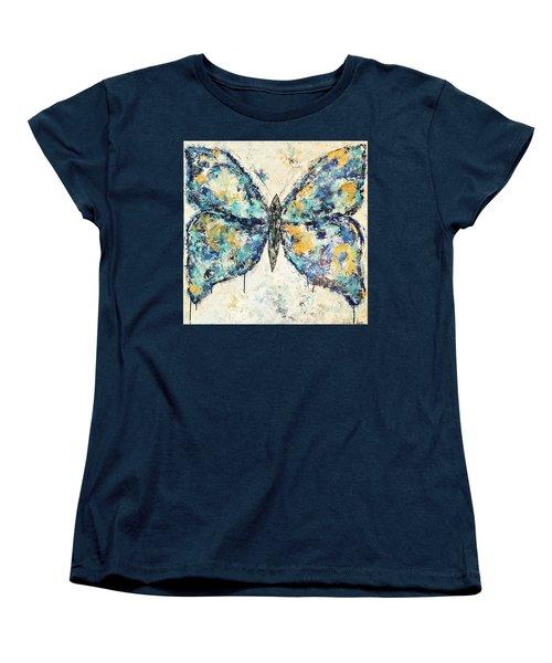Butterfly Love Women's T-Shirt (Standard Cut) by Kirsten Reed