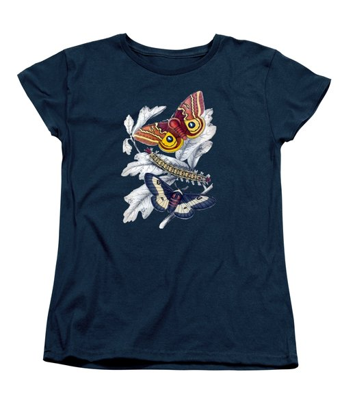Butterfly Moth T Shirt Design Women's T-Shirt (Standard Cut)