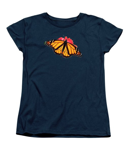 Women's T-Shirt (Standard Cut) featuring the mixed media Butterfly Pattern by Christina Rollo