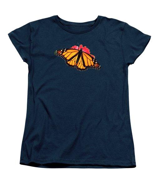 Butterfly Pattern Women's T-Shirt (Standard Cut)