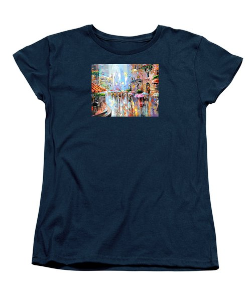 Buzy City Streets Women's T-Shirt (Standard Cut)