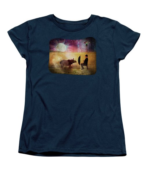 By The Light Of The Moon Women's T-Shirt (Standard Cut) by Terry Fleckney