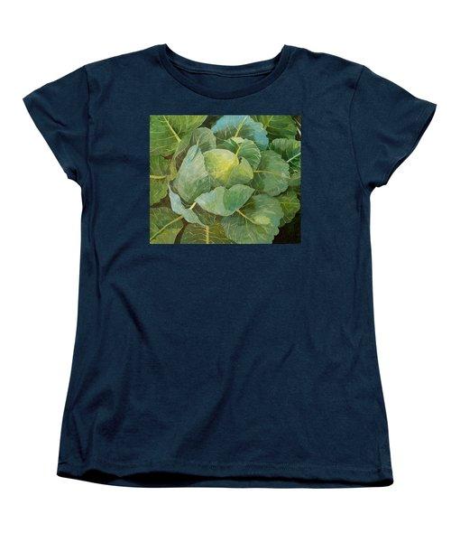 Cabbage Women's T-Shirt (Standard Cut) by Jennifer Abbot