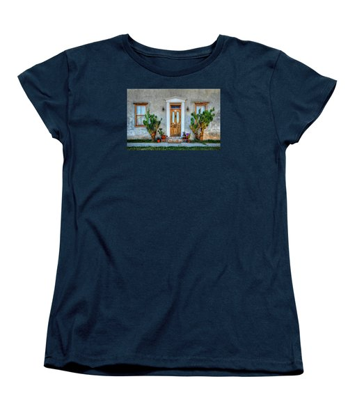 Women's T-Shirt (Standard Cut) featuring the photograph Cactus Guards by Ken Smith