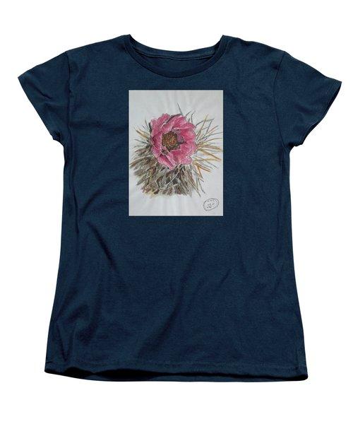 Cactus Joy Women's T-Shirt (Standard Cut) by Sharyn Winters