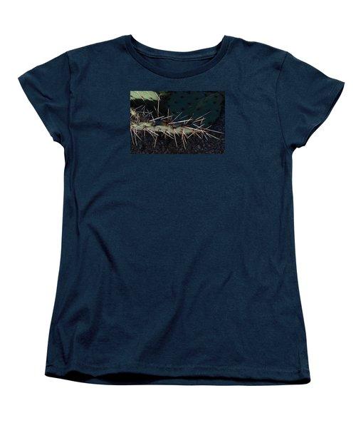 Women's T-Shirt (Standard Cut) featuring the photograph Cactus San Tan 10 by Carolina Liechtenstein