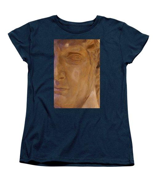 Caesar Women's T-Shirt (Standard Cut) by Cynthia Powell