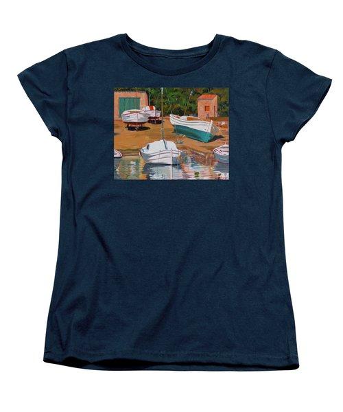 Cala Figuera Boatyard - II Women's T-Shirt (Standard Cut)