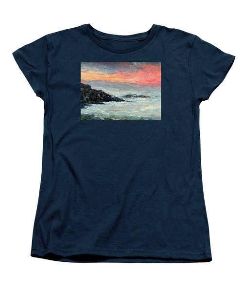 California Coast Women's T-Shirt (Standard Cut) by Gail Kirtz