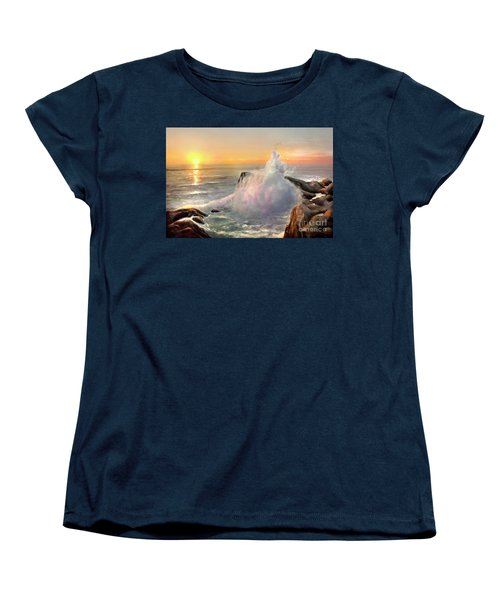 California Coast Women's T-Shirt (Standard Cut) by Michael Rock
