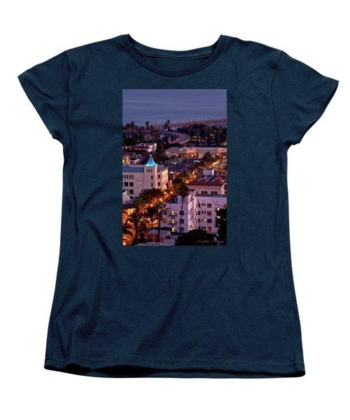 California Street At Ventura California Women's T-Shirt (Standard Cut)