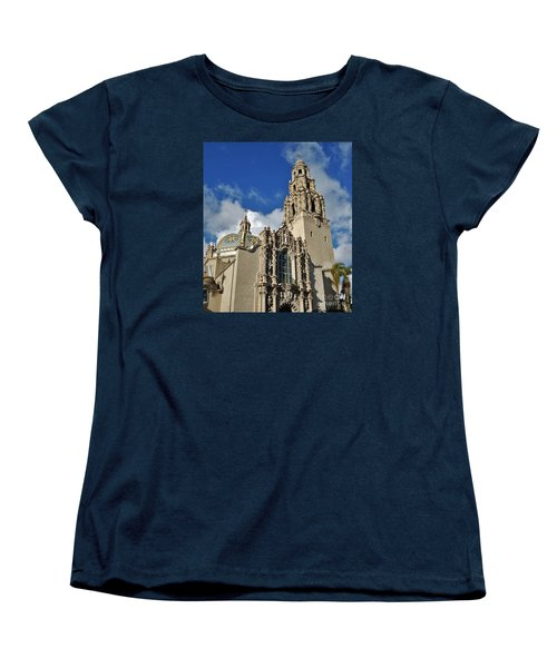 California Tower 2010 Women's T-Shirt (Standard Cut) by Jasna Gopic