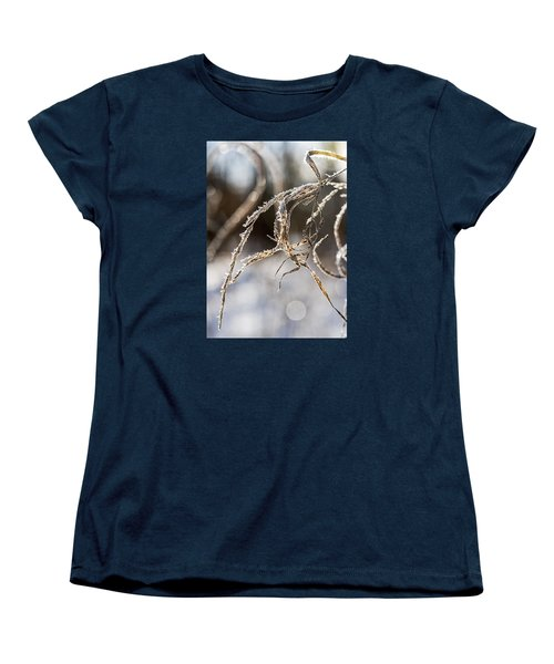 Calligraphy In The Grass Women's T-Shirt (Standard Cut) by Annette Berglund