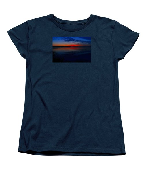 Calm Of Early Morn Women's T-Shirt (Standard Cut) by Jeff Swan