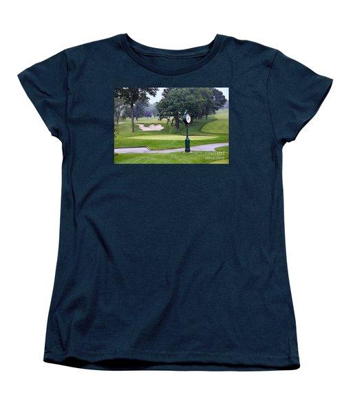 Camel Sand Trap In Medinah Women's T-Shirt (Standard Cut) by Catherine Sherman