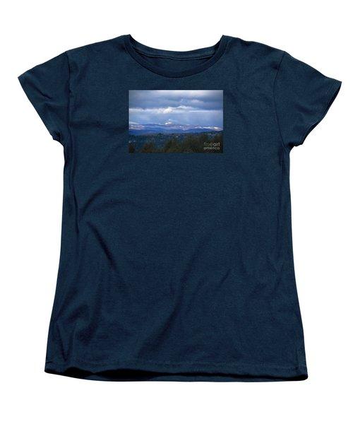 Camel's Hump Mountain  Women's T-Shirt (Standard Cut) by Diane Diederich